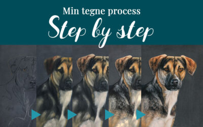 Min tegne process: Step by step